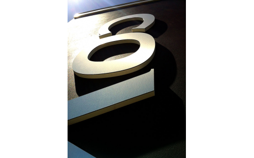 Covey 3D Lettering external corporate building signage