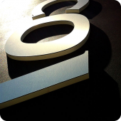 Covey Engineers 3D precision cut lettering external building signage